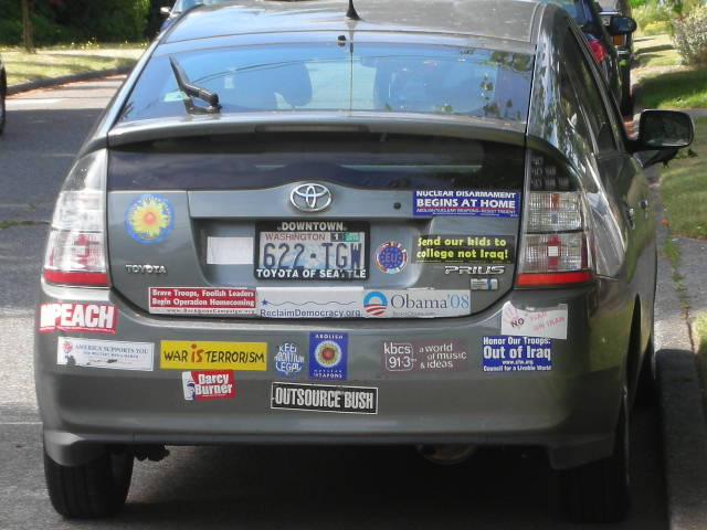 2blowhards Com Bumper Sticker Set One Year Later
