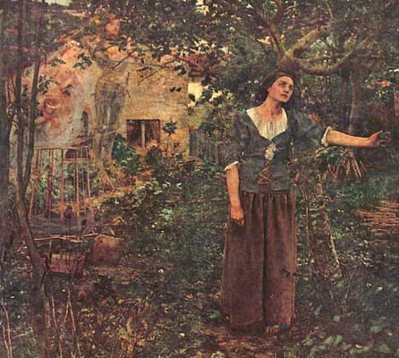 an analysis of the painting joan of arc by jules bastien lepage