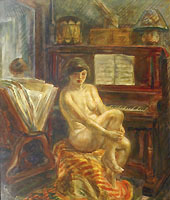 Nude at Piano 1928 - tempera and glaze.jpg