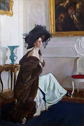 Serov - Portrait of Princess Olga Orlova - 1911.jpg