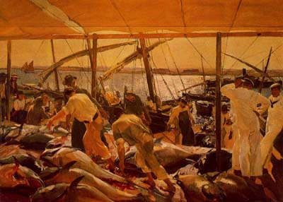 Sorolla - The Tuna Catch, Ayamonte - 1919.jpg