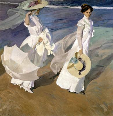 Strolling Along the Seashore - 1909.JPG