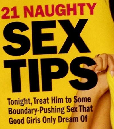 on Cosmo Sex Tips